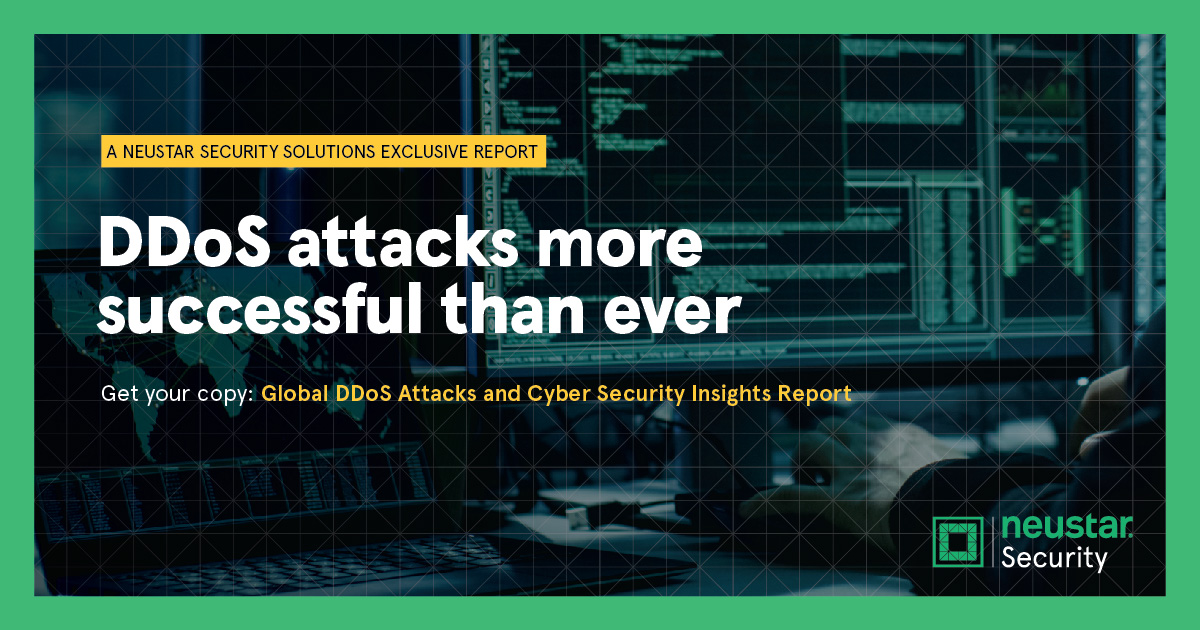 Neustar Global Attacks and Cyber Security Insight Report