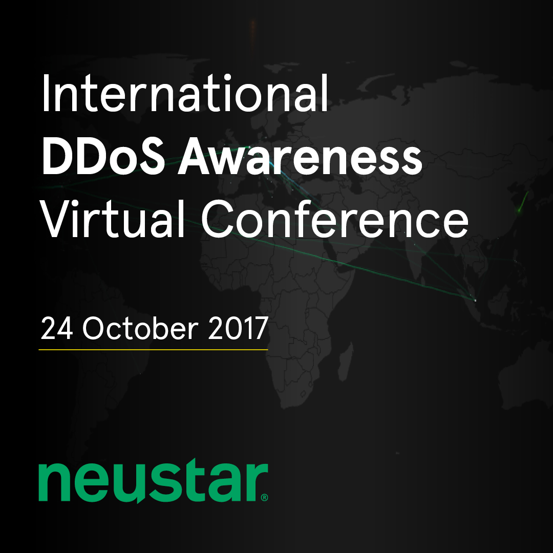 Neustar to host International DDoS Awareness Virtual Conference