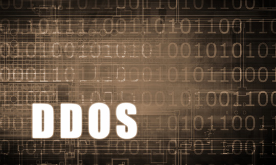 graphic image of zeros and ones with letters DDOS on top photos