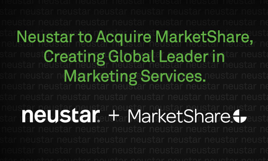 Neustar to Acquire MarketShare