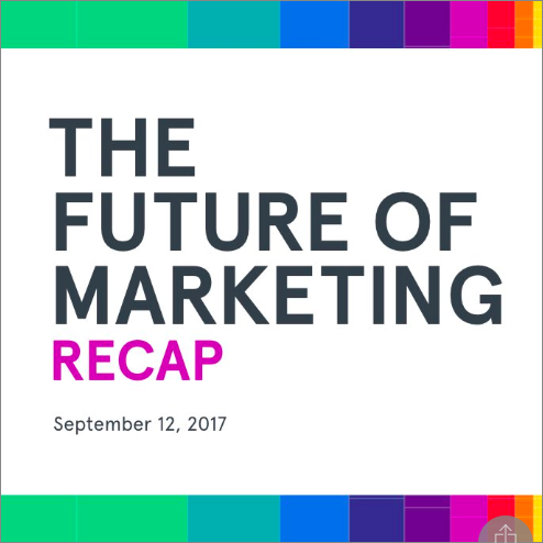 It's a Wrap! The First Annual Neustar Connect Forum Goes Deep Into Future of Marketing Trends