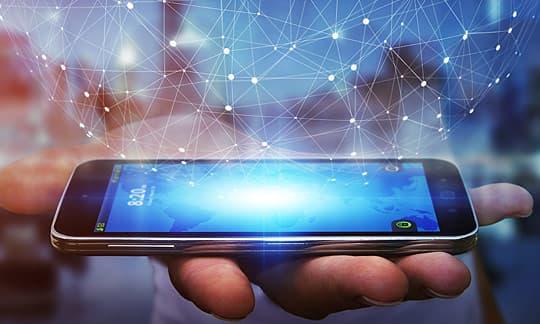 photo of smartphone